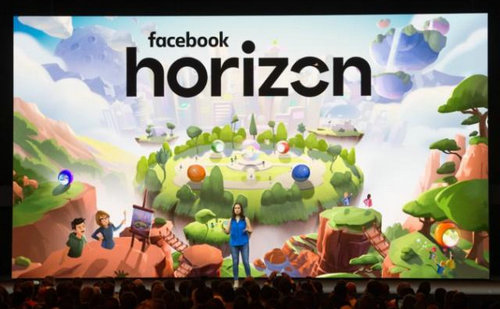 VR社交平台《Facebook Horizon》